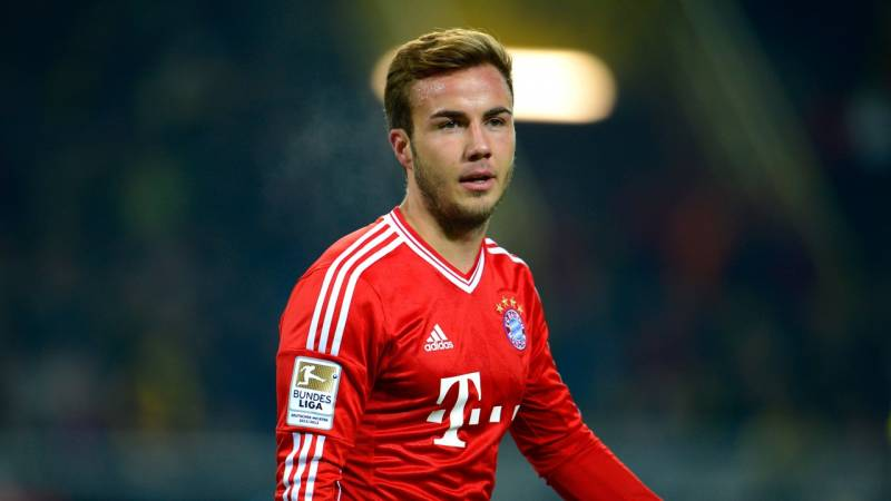 Mario Gotze during his time with Bayern Munich. (Getty Images)