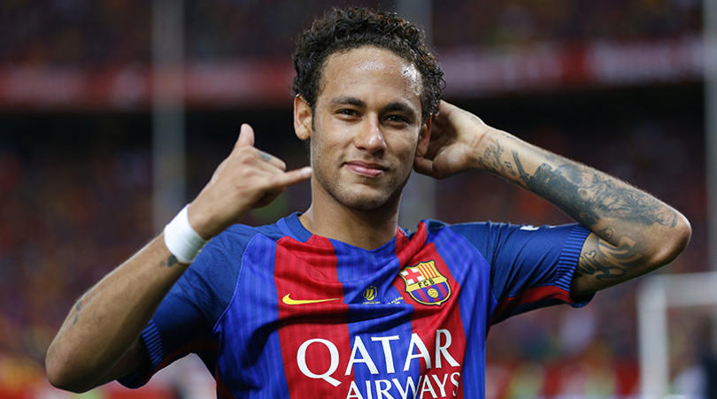 Neymar during his time with Barcelona (Getty Images)
