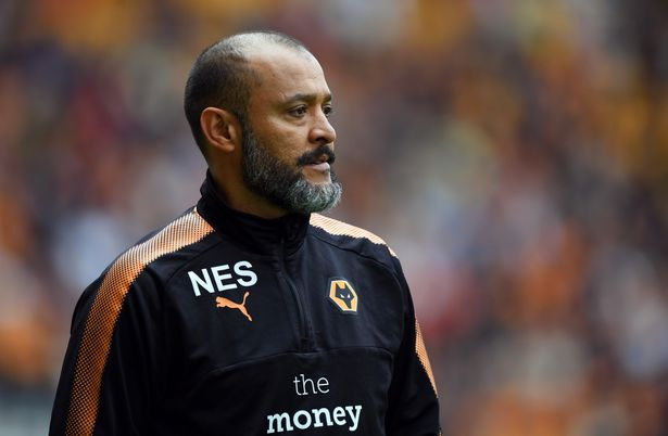 Wolves manager Nuno Espirito Santo on the sidelines. (Getty Images)