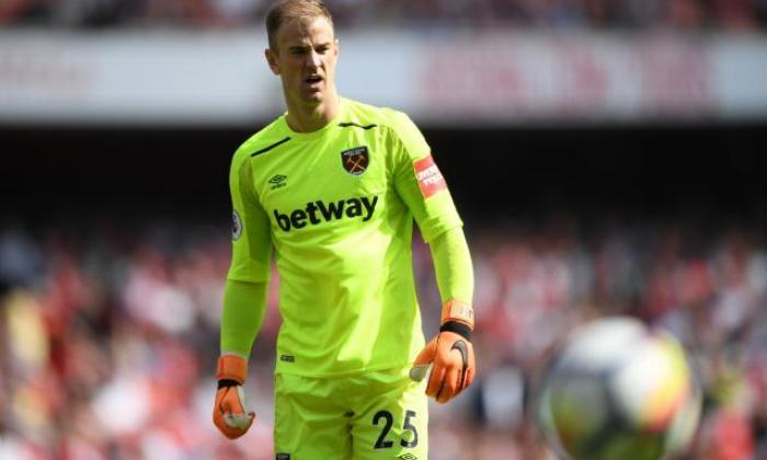 Joe hart is currently a free agent