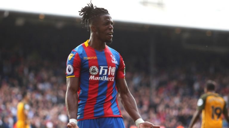 Wilfried Zaha has established himself as one of the best wingers in English football (Getty Images)