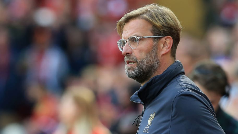 Liverpool boss Jurgen Klopp on the touchline. (Getty Images)