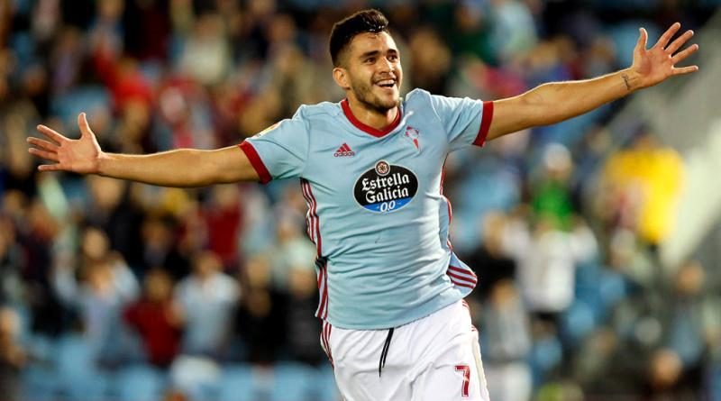 Maxi Gomez during his time at Celta Vigo (Getty Images)