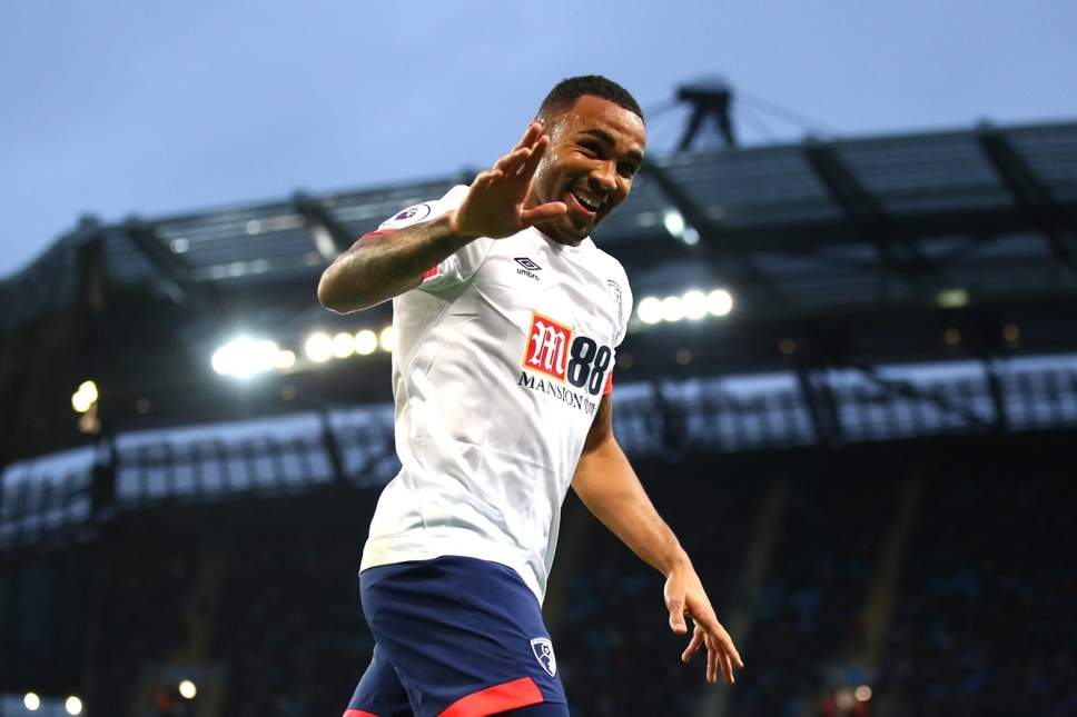 Callum Wilson celebrates after scoring (Getty Images)