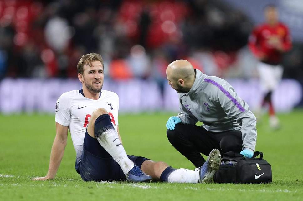 Harry Kane sustained a hamstring injury against Southampton. (Getty Images)