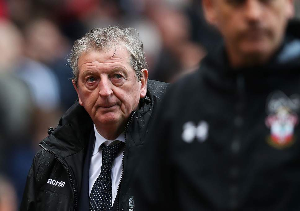 Crystal Palace boss Roy Hodgson. (Getty Images)