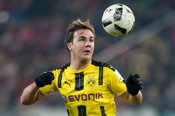 Mario Gotze has been linked with a move to West Ham (Getty Images)