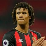 Nathan Ake applauds the Bournemouth fans. (Getty Images)