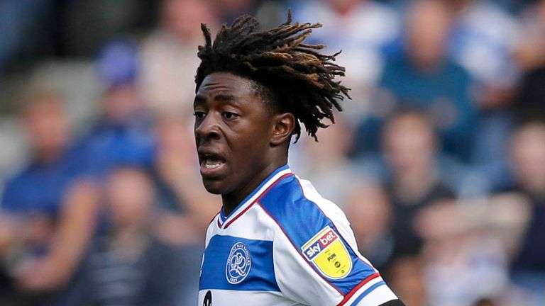 QPR attacker Eberechi Eze in action. (Getty Images)