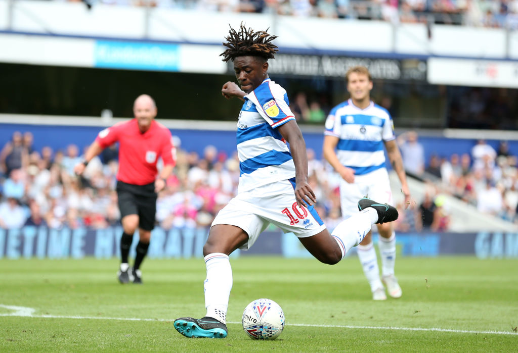 Eberechi Eze of Queens Park Rangers during the Sky Bet Championship match between Queens Park Rangers and Sheffield United at Loftus Road on August 11, 2018 in London, England. (Getty Images)