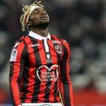 Allan Saint-Maximin during his time with OGC Nice. (Getty Images)