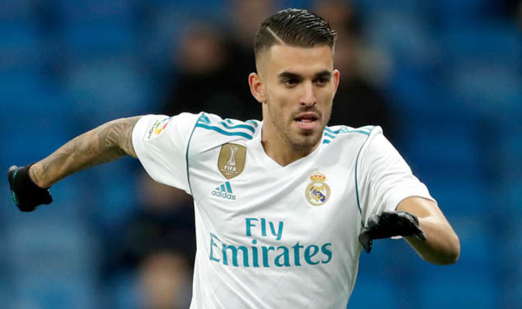 Dani Ceballos in action for Real Madrid. (Getty Images)