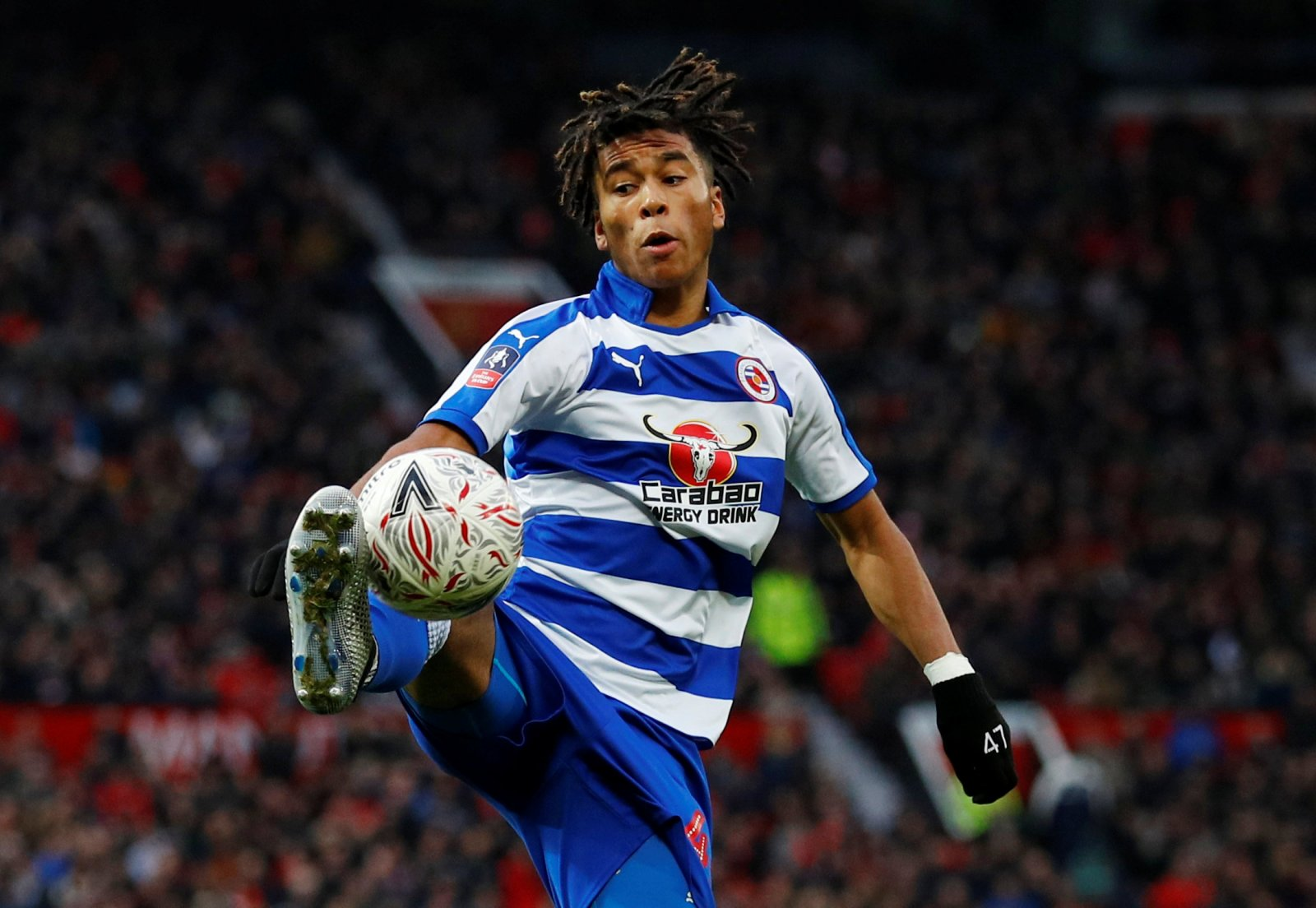 Danny Loader in action for Reading (Getty Images)