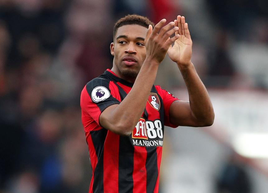Bournemouth winger Jordon Ibe applauds the fans. (Getty Images)