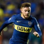 Nahitan Nandez during his time with Boca Juniors. (Getty Images)