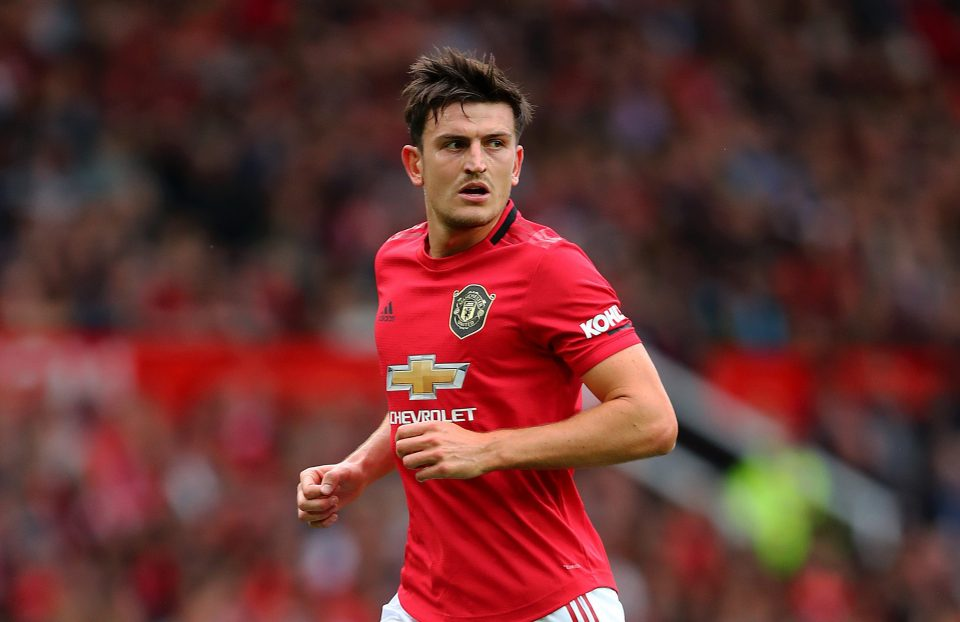 Man United defender Harry Maguire in action. (Getty Images)