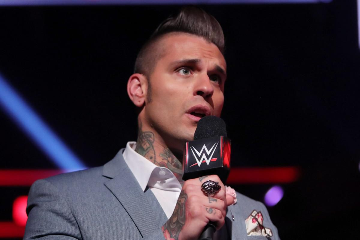 Corey Graves WrestleMania