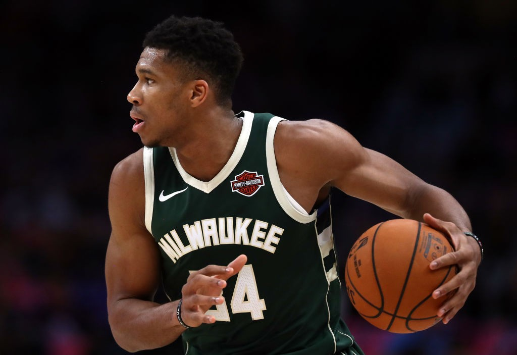 Giannis Antetokounmpo Milwaukee Bucks NBA