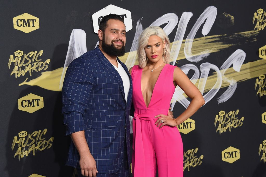 Rusev and Lana were married in real life