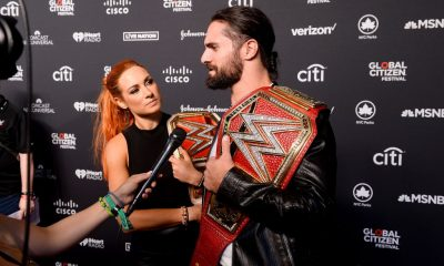 Becky Lynch and Seth Rollins (1)