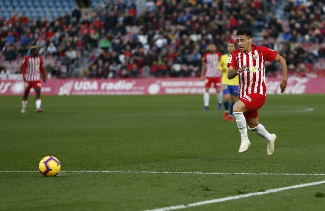 Almeria's Gaspar panadero has been linked with Cardiff City