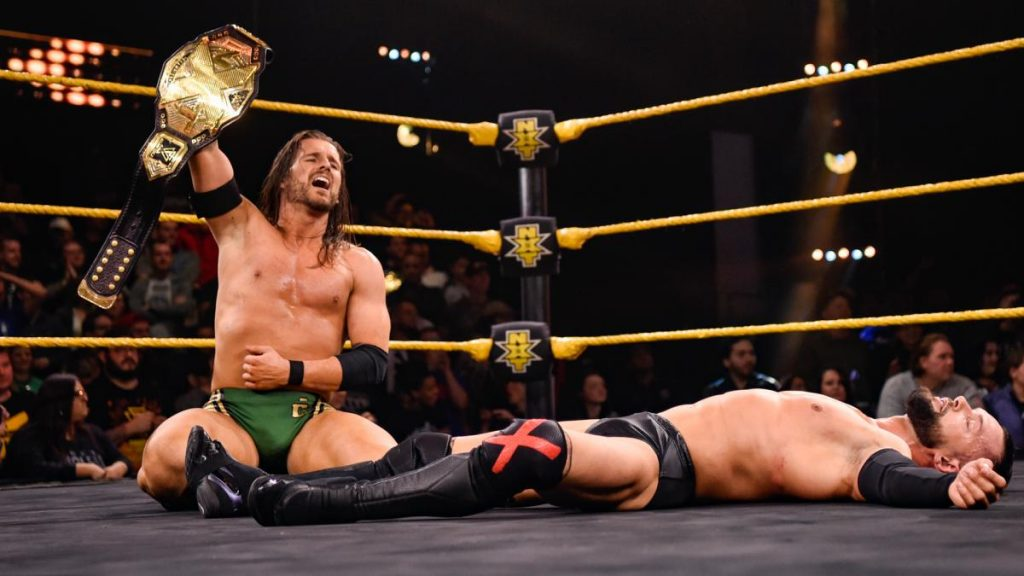 Adam Cole Finn Balor WWE NXT results, winners, grades and reaction