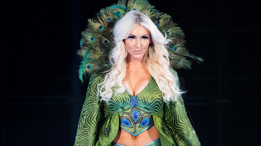 Charlotte Flair and andrade are engaged and the Queen is known for her WresytleMania entrance and attire