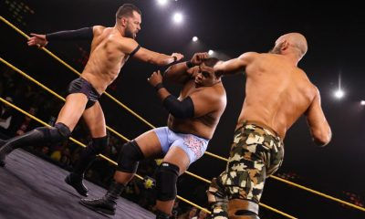 Ciampa Balor and Lee WWE NXT