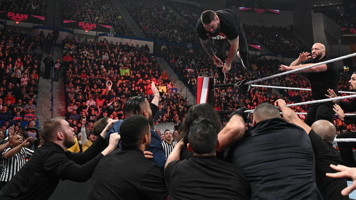 WWE Raw results, winners, grades and reactions