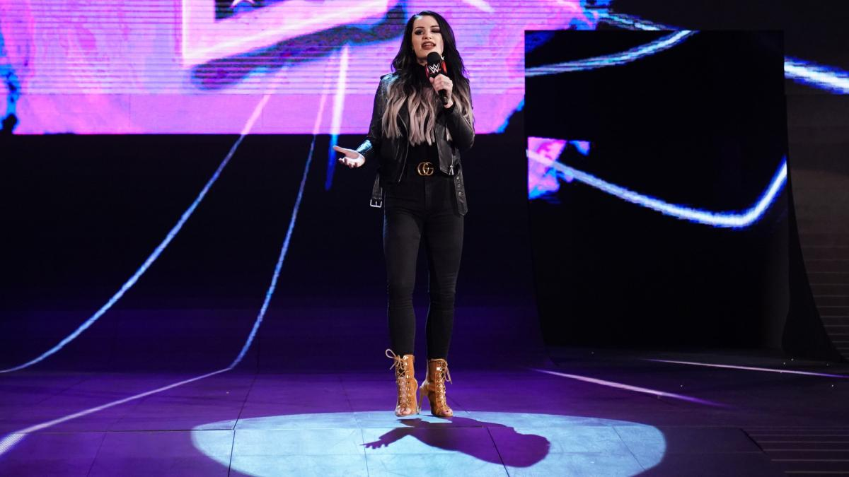 Paige hasn't made her WWE return yet but spoke about the first NXT Women's title match
