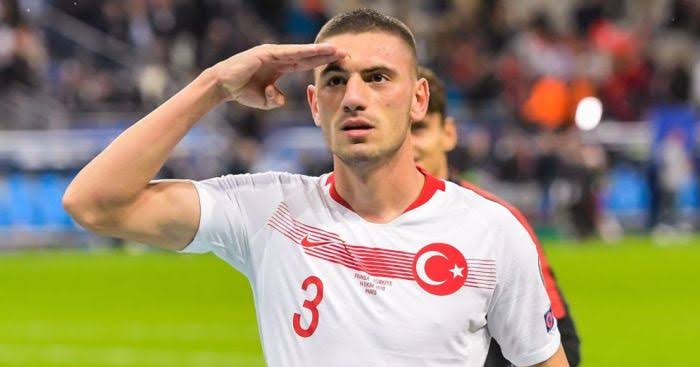 Juventus' Merih Demiral has been linked with a move to Leicester City