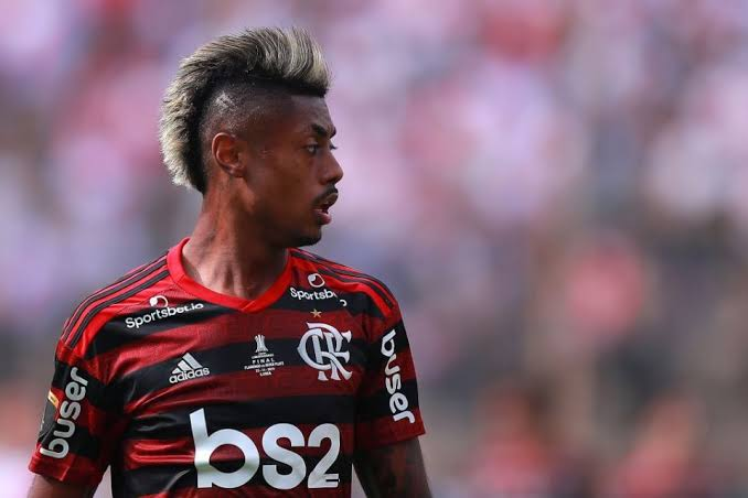 Flamengo forward Bruno Henriques has been linked with West Ham