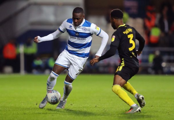 Bright Osayi-Samuel (L) in action against Brentford (Getty Images)