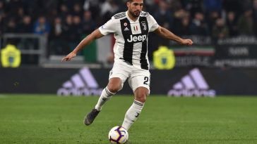 Emre Can of Juventus in action during the Serie A match between Juventus and Udinese at Allianz Stadium on March 08, 2019 in Turin, Italy. (Getty Images)