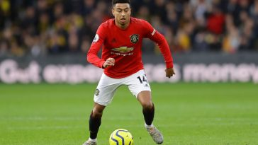 Jesse Lingard of Manchester United in action during the Premier League match between Watford FC and Manchester United at Vicarage Road on December 22, 2019 in Watford, United Kingdom. (Getty Images)