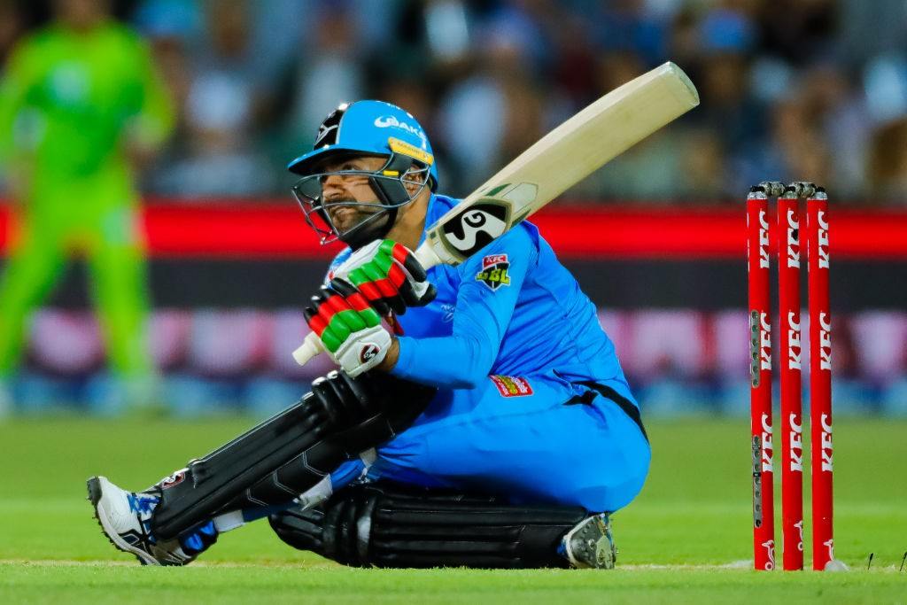 Image result for Big Bash League Rashid Khan batting