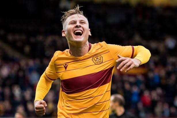 Motherwell striker James Scott has been linked with Bristol City