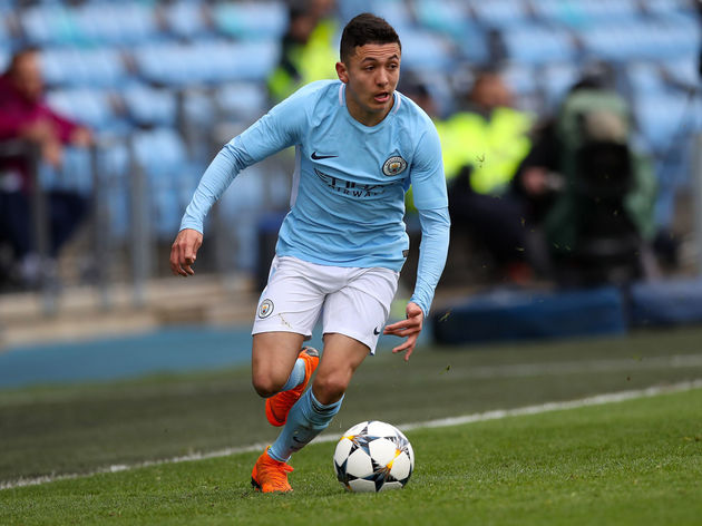 Celtic have been offered the chance to sign Man City prospect Ian Poveda