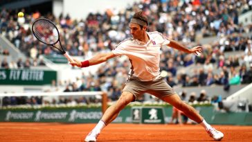 Roger Federer French Open
