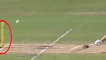 Meg Lanning run-out