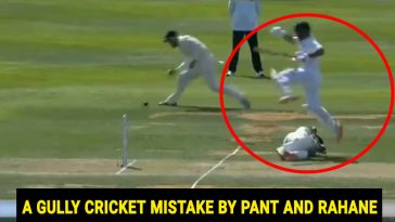 Rishabh Pant Ajinkya Rahane run-out