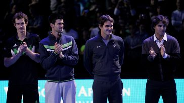 Big 4 tennis men's Novak Djokovic Andy Murray Roger Federer Rafael Nadal