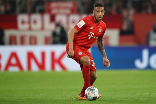 Corentin Tolisso of FC Bayern Muenchen runs with the ball during the DFB Cup round of sixteen match between FC Bayern Muenchen and TSG 1899 Hoffenheim at Allianz Arena on February 05, 2020 in Munich, Germany. (Getty Images)