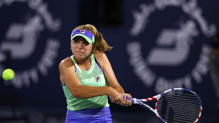 Sofia Kenin rankings