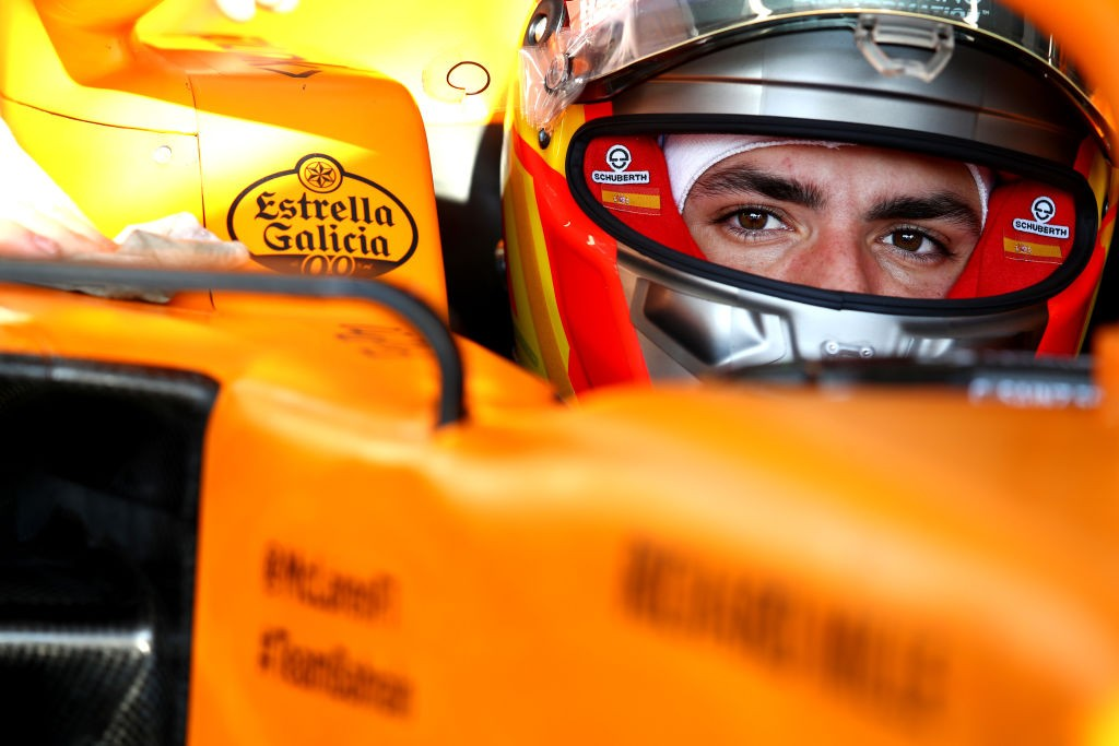 Carlos Sainz of McLaren tested himself for COVID 19 but added that the result was negative