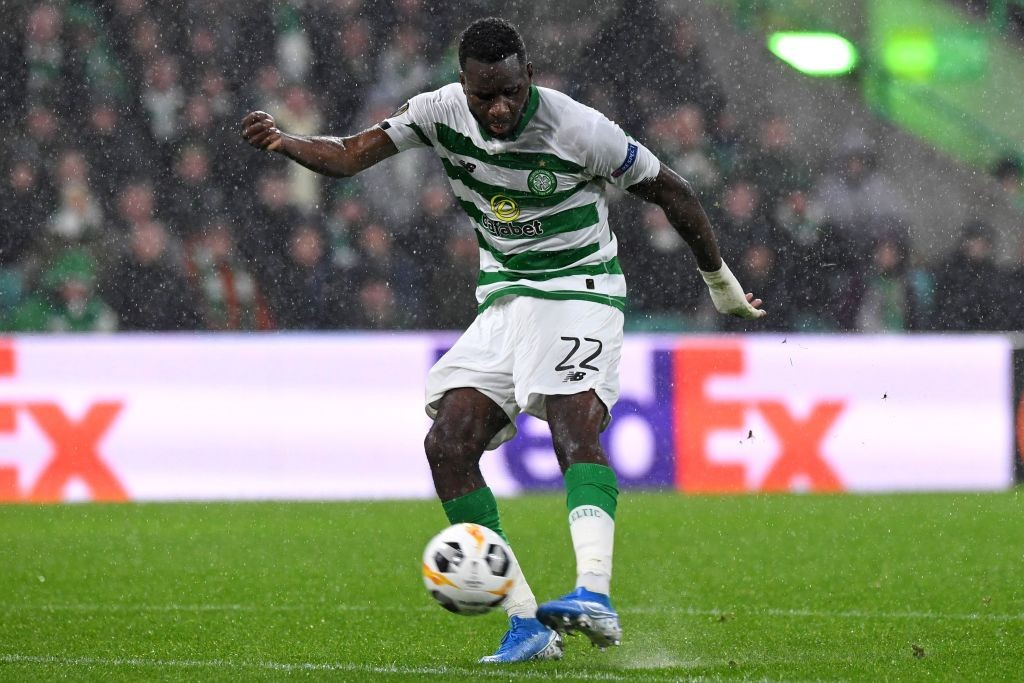 Odsonne Edouard has led the line brilliantly for Celtic (Getty Images)