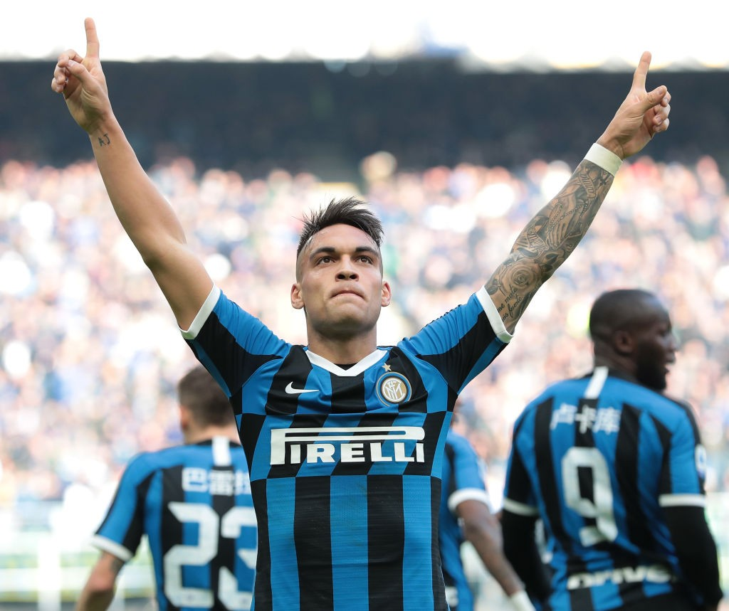 Lautaro Martinez has been linked with a move to Manchester United (Getty Images)
