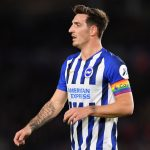 Brighton defender Lewis Dunk in action. (Getty Images)