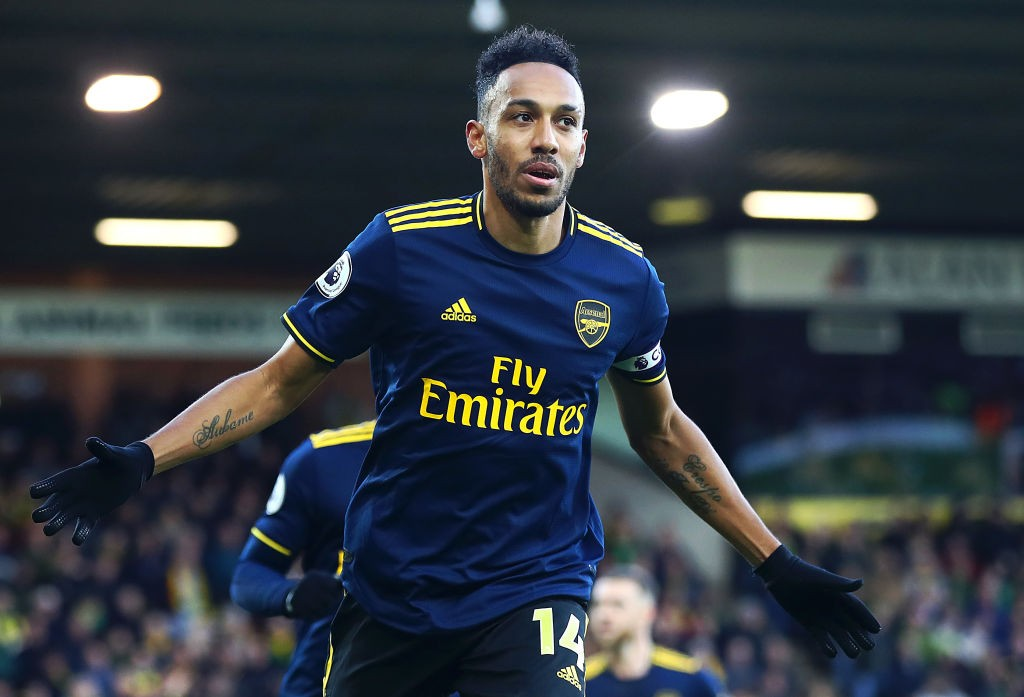 Pierre-Emerick Aubameyang is Arsenal's leading goalscorer this term (Getty Images)