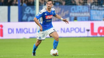 Fabian Ruiz in action for Napoli (Getty Images)